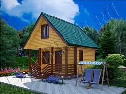 Готовые проекты домов из бруса, цены в Брянске - Екатерем